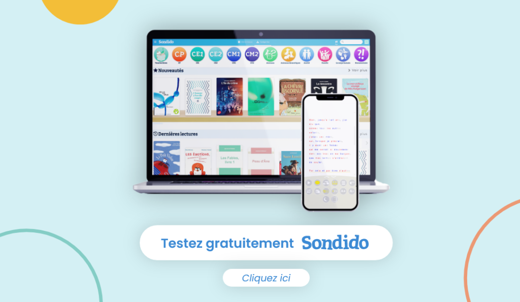 Demandez votre essaie gratuit de SONDIDO. Cliquez ici