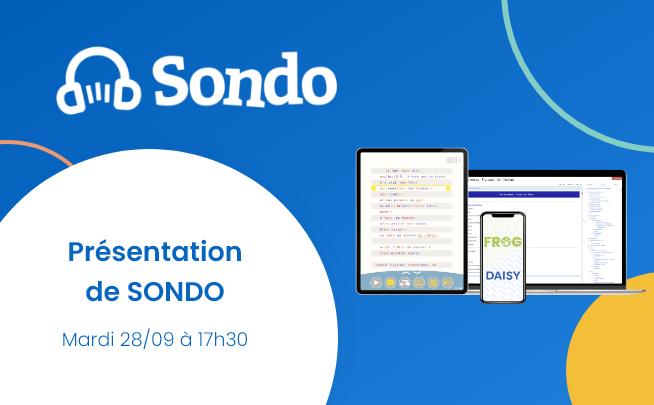 28 Septembre – Présentation de SONDO : bibliothèque numérique inclusive des collèges et lycées